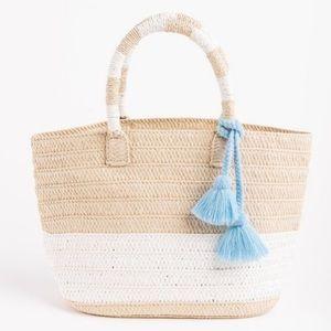 Altru Straw Tote Bag